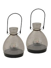 Mini Lantern - Grey(Smoked) Set Of 2 - The Yellow Door