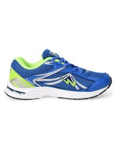 Blue & Green Sports Shoes - Campus