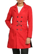 Pink Cotton Winter Coat - By