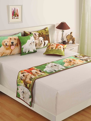 multicolored Pure cotton  Pillows and Cushion Cover set