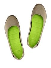 Khaki Brown Casual Shoes - Crocs