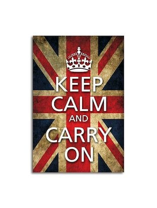 Keep calm & carry on - flag