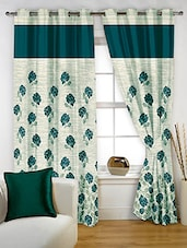 Story @ Home Blue Polyester Window Curtains - By