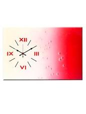 Dual Toned Analog Wall Clock - Design O Vista