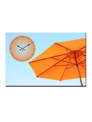 Umbrella Photo Print Wall Clock