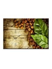 Coffee Bean Photo Print Wall Clock - Design O Vista