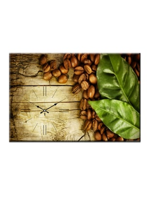 Coffee Bean Photo Print Wall Clock