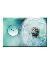 Dandelion Puff Photo Print Wall Clock - Design O Vista