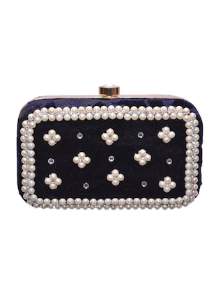blue metal clutch