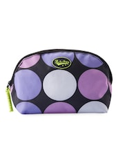 Multicolored Polka Dots Travel Pouch - Be... For Bag